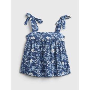 Gap宝宝--小童 印花绑带背心