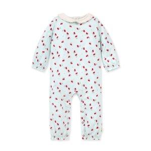 Burt's Bees Baby有机棉婴童连体衣