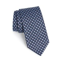 Salvatore Ferragamo logo领带