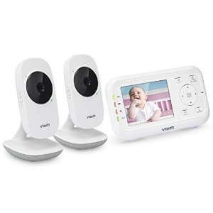 50% Off VTech VM3252-2 Video Baby Monitor with 2 Cameras 2.8