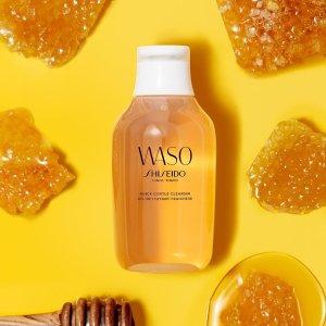 Shiseido订单税前满$150免费送!蜂蜜卸妆啫喱150ml