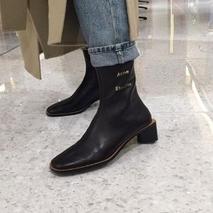 一律8折 €400收Acne高跟靴Monnier Frères 鞋靴大促 巴黎世家老爹鞋、Acne网红靴都在线