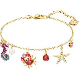 SwarovskiOcean Bracelet, Multi-colored, Gold plating by SWAROVSKI