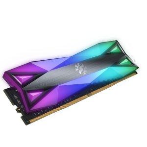 $139.99(原价$230) 灯效无敌威刚 XPG D60G 16GB (8GBx2) DDR4 3200 RGB内存条