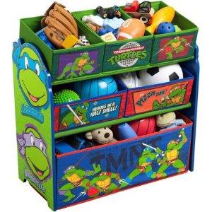 $19.99Delta Children 忍者神龟玩具收纳架