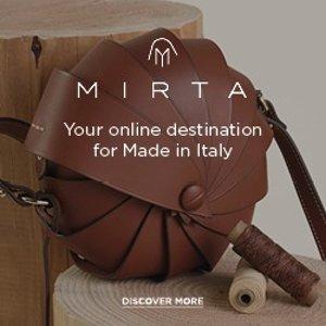 无门槛8.5折 £179收编织包Mirta 意大利手工皮具全场大促 高质感小众品牌
