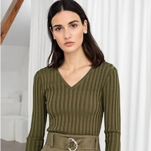Up to 60% Off + Free Shipping& Other Stories Fall Sweaters Sale Early Access