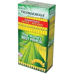 Staples Ticonderoga #2 Pencil 72支