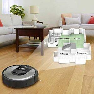 史低价:iRobot Roomba i7 智能扫地机器人 黑五限时7.6折闪购