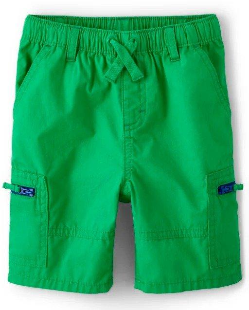 男童松紧带短裤