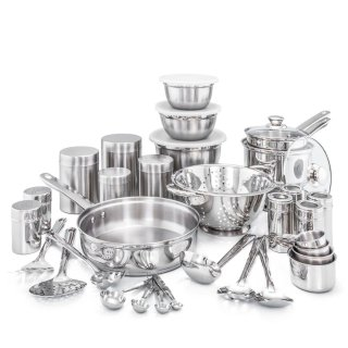 $64.99Old Dutch International 36 Piece Kitchen in a Box Stainless Steel Cookware Set @ wayfair