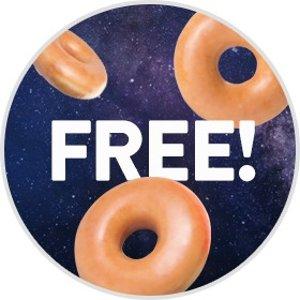 甜甜圈免费吃Krispy Kreme 免费送甜甜圈啦!限量100000份