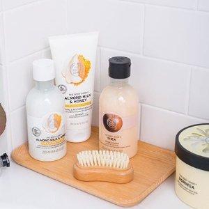 £2 收经典明星身体乳 大罐又好用!逆天价:The Body Shop官网大促 高性价比入洗护系列