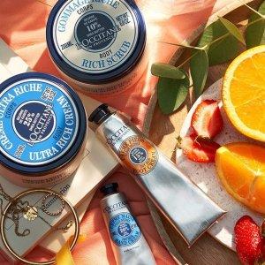 L'Occitane 洗护产品大促 收乳木果、樱花护手霜