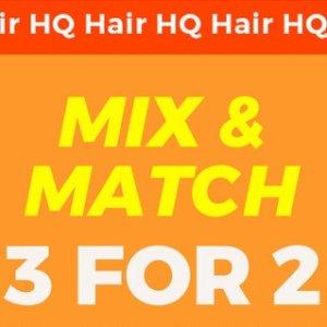 买3免1=变相6.7折白菜价:HQhair 精选开架品牌专场 NYX、卡尼尔、欧莱雅等都有