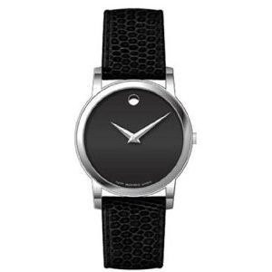 Movado Men's 2100002 Museum Leather Watch, 38mm by Movado