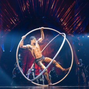 Tickets as low as $26.5Cirque du Soleil USA Tour on going