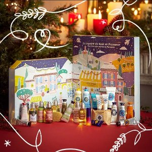 售价$99(价值$130)L'occitane 圣诞礼盒开售 含24件好物 每年必抢