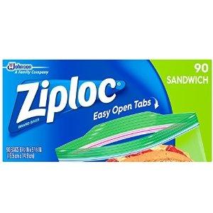 $2Ziploc Sandwich Bags