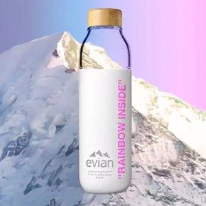 £45就收 还有Prada 保温瓶£50入Evian x Virgil Abloh 依云出品全新联名水瓶上市 疯狂断货中