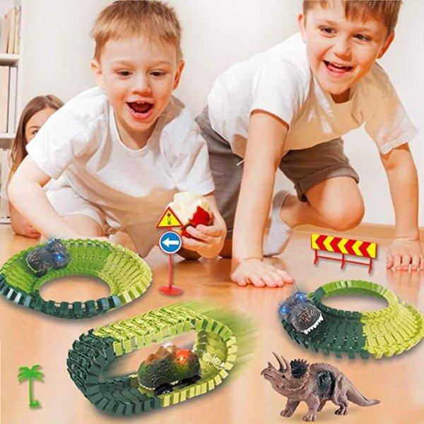 恐龙世界+3D立体轨道