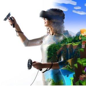 $199(原价$599)史低价:微软 HP Mixed Reality 混合现实眼镜  送两个控制器