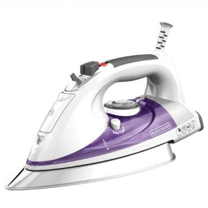 Black Decker Professional Steam Iron With Stainless Steel Soleplate