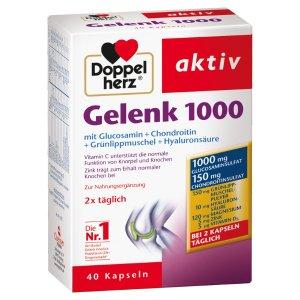 Doppelherz  Gelenk 1000 (40 粒)软骨素
