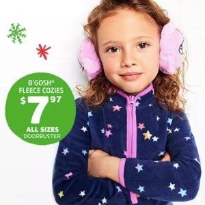 FS + Only $7.97 All SizesCozies Fleece @ OshKosh BGosh