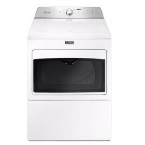 Maytag 27 Inch Wide 7.4 Cu. Ft. Capacity Electric Dryer