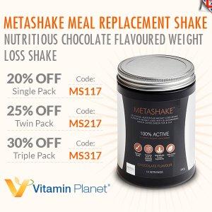 低至7折+线上7.5折Metashake 超火减脂代餐奶昔热卖