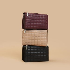 15% Off + Free ShippingCharles & Keith Quilted Collection Bags