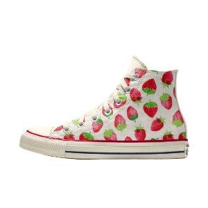 Converse草莓鞋 高帮