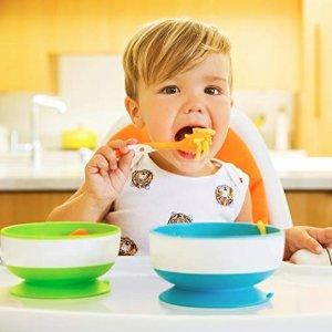 低至$2.99Munchkin 婴幼儿奶瓶、餐具、浴室玩具等特卖