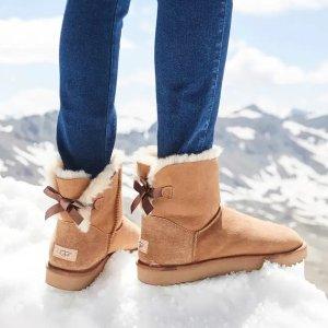 UGG蝴蝶结雪地靴