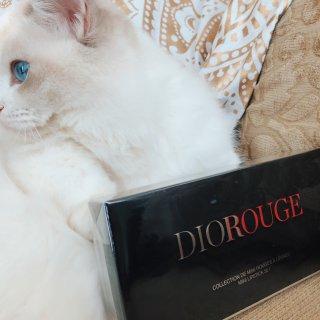 最值得拥有的口红套装?黄皮也能驾驭吗?Dior Rouge Mini Lipstick Set 测评和试色