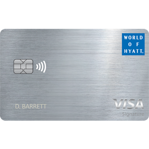 Earn up to 50,000 Bonus PointsThe World Of Hyatt Credit Card