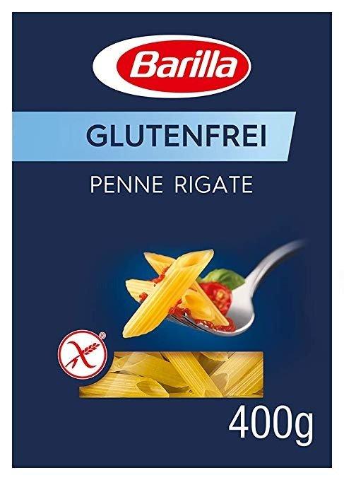 Barilla Pasta Penne Rigate Glutenfrei aus Reis und Mais– 14er Pack (14 x 400g)