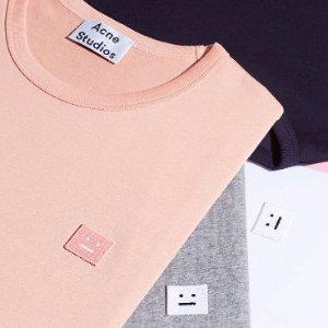 3折起  £96就粉色卫衣Acne Studios 折扣区再上新 必备简约风美衣 囧脸穿搭速度收