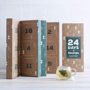 $30.4(原价$46.8)Teapigs 24天茶包礼盒 天然花草茶浆果制作 每天一个惊喜口味