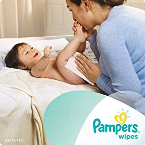 $20.73(原价$28.99)Pampers 敏感型婴儿湿巾 1024片  给宝宝最贴心的呵护