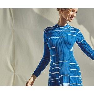 BCBGMAXAZRIAMixed Stitch Sweater Dress