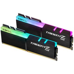 $94.99 AMD Ryzen优化G.SKILL Trident Z RGB 16GB (2 x 8GB) DDR4 台式机内存