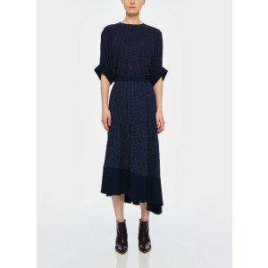 Tibi波点半身裙