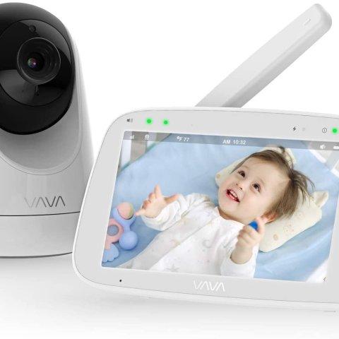独家:婴儿监视器促销 具有夜视和温度监视器