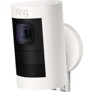 Ring - Stick Up Indoor/Outdoor Wire free Security Camera