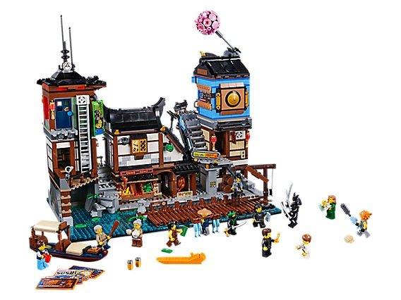 忍者系列之 City Docks - 70657