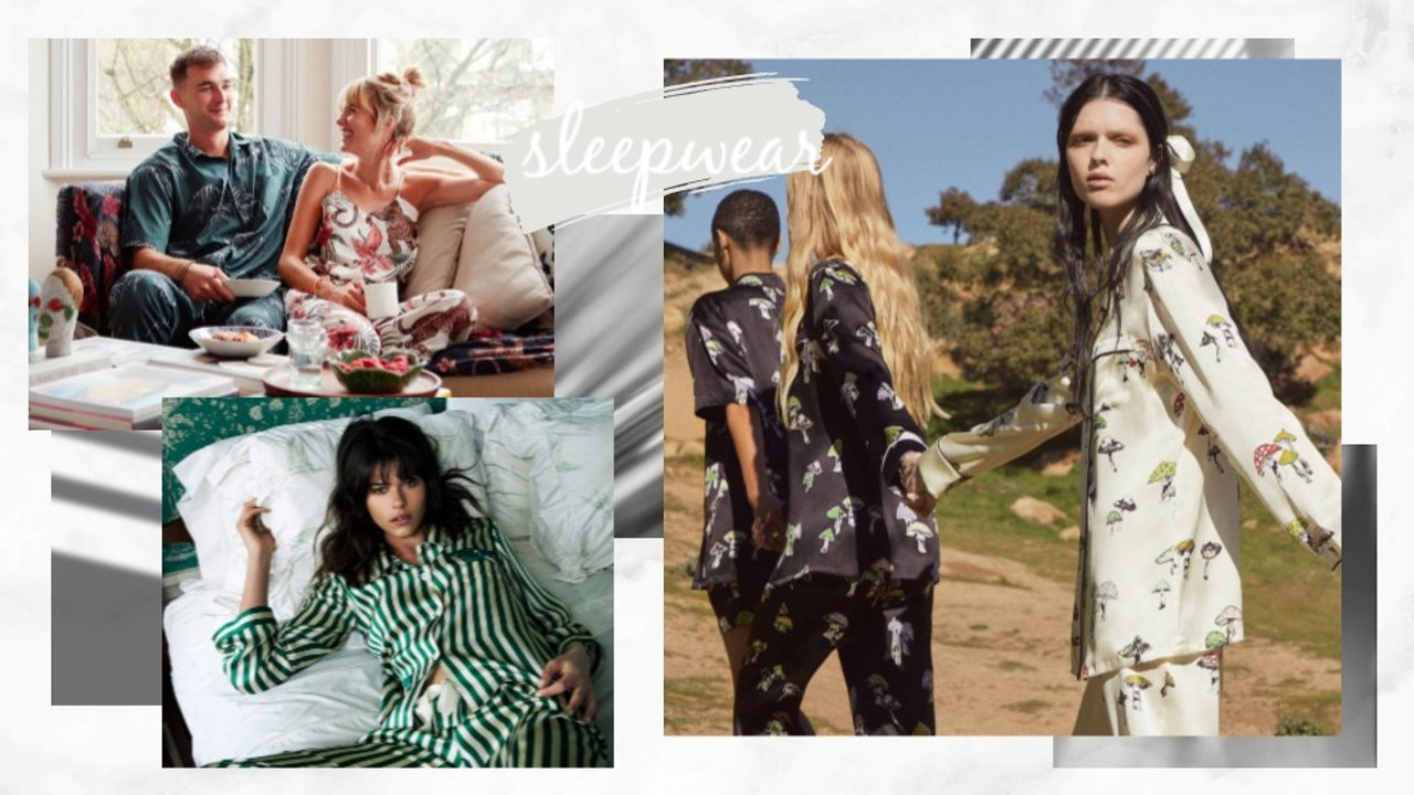 居家时尚 貌美舒适小众的睡衣、家居服品牌推荐
