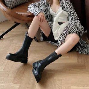 Bottega Veneta爆款骑士靴