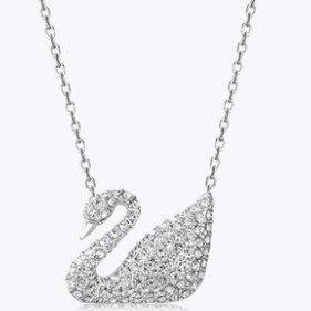 限时聚划算¥509 包税包邮施华洛世奇女Swan天鹅经典项链 3色可选